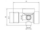 """Pěticestná tvarovka pro vodárny 1""""x82 mm"""