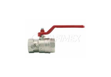 Kulový ventil s odvodněním