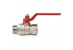 Kulový ventil s vnitřním a vnějším závitem