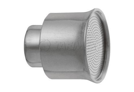 """Kropítko hliníkové pr. 51 mm, vnitřní závit 3/4"""", otvory 1 mm"""