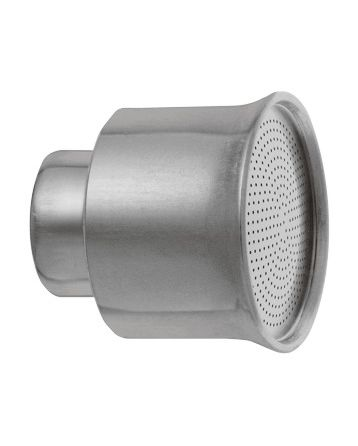 """Kropítko hliníkové pr. 51 mm, vnitřní závit 3/4"""", otvory 0,7 mm"""