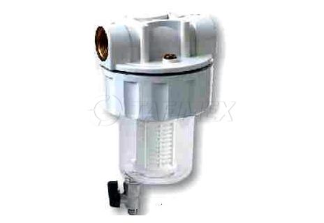 """Plastový filtr s vypouštěním MIX PLUS 5"""" bez vložky 3/4"""""""