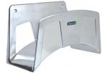 Nástěnný držák hadic, slitina hliníku, 244x159x145 mm
