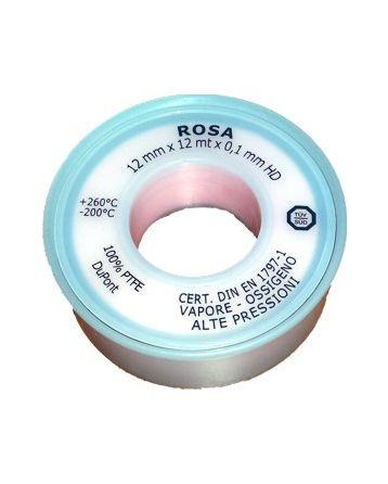 Teflonová páska na kyslík 12 mm x 0,1 mm x 12 m