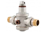 Redukční ventil niklovaná mosaz